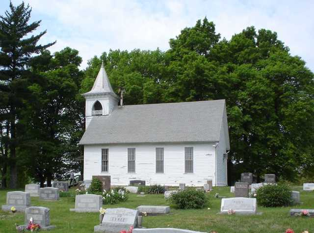 Fairview Church of Christ - Linn, Missouri - Religion in Family History - Country Church
