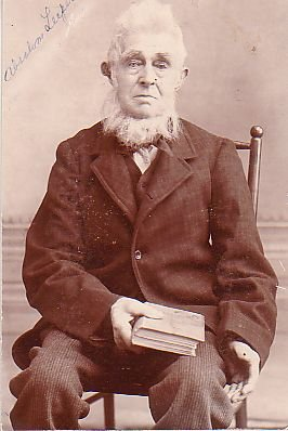 absalom leeper, Blind, preacher, Old Picture, Mad as a hatter