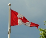 Canada Day - Canadian Flag - Toronto, Canada - Maple Leaf - Flag
