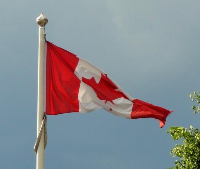 Canada Day - Canadian Flag - Toronto, Canada - Maple Leaf - Flag