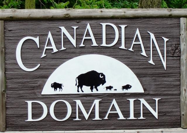 Canadian Domain - Toronto Zoo - Toronto Canada - Canada Day
