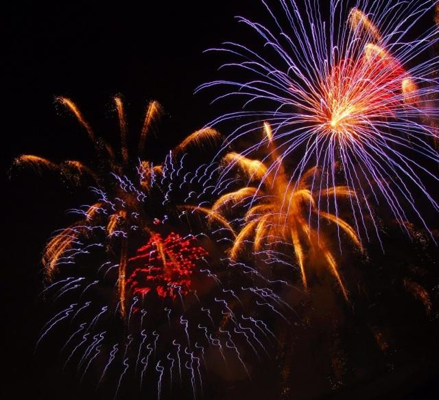 Fireworks - Celebration - Holiday Fireworks - Colorful Fireworks - Holiday - Independence Day