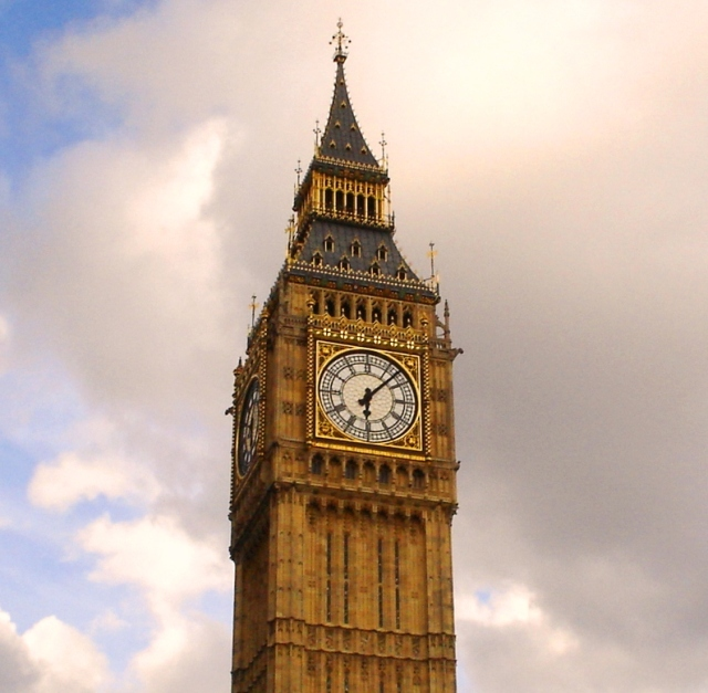 Big Ben - Elizabeth Tower - Clock Tower - Most Photographed Clock - London, England - Iconic Clock