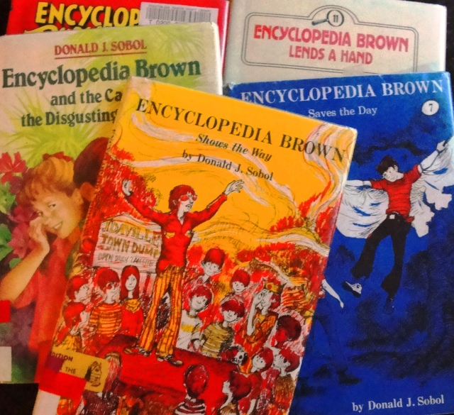 Encyclopedia Brown, Library Books, Book series