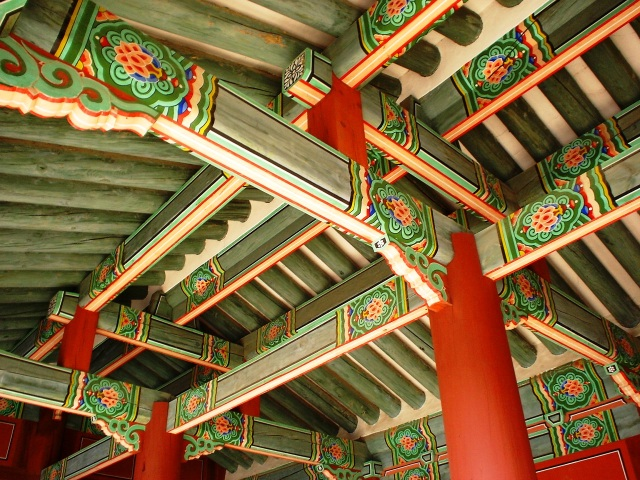 Colorful Pasageway, Seoul, Palace Complex