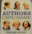 Authors Card Game - Childhood Card Games - Memories - Literature