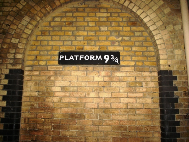 Platform 9 3/4, London, Kings Cross Station