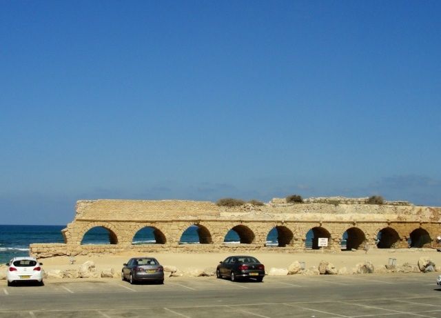Aqueduct Beach, Ceasarea Maritima, aqueduct, Israel