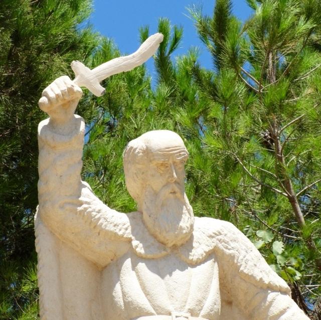 Mount Carmel, Elijah, Sword