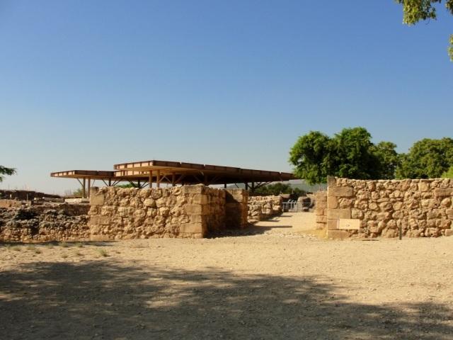 Tel-Hazor Canaanite City Gates - Archaeology - Joshua - Israel