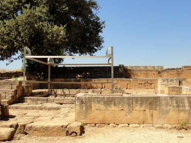 Worship Site at Tel Dan - Golden Calf - Jeroboam - Altar