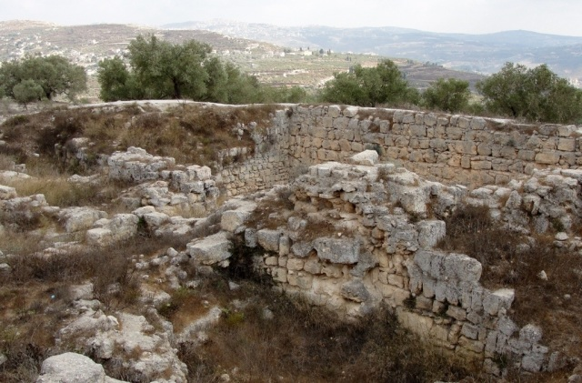 Ruins at Samaria, Jehu, Old Testament, Archaeology