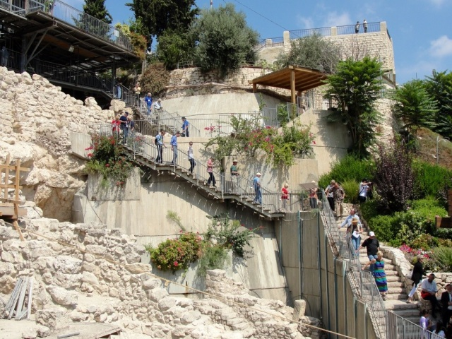 City of David excavations, Jerusalem, King David, Archaeology