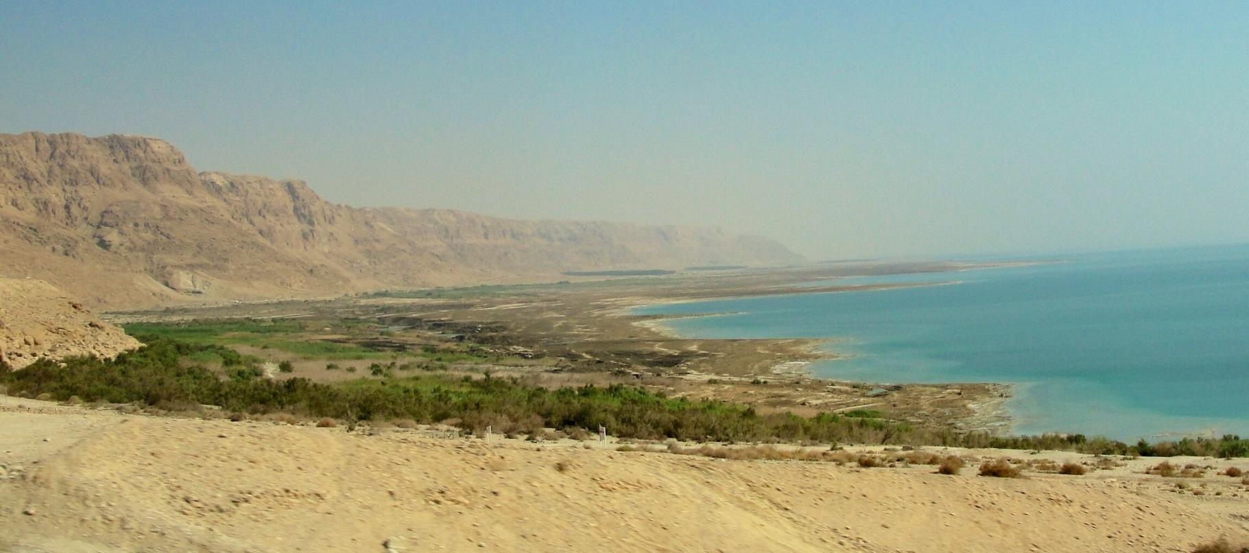 dead sea map  braman's wanderings - dead sea  israel  lowest point on earth