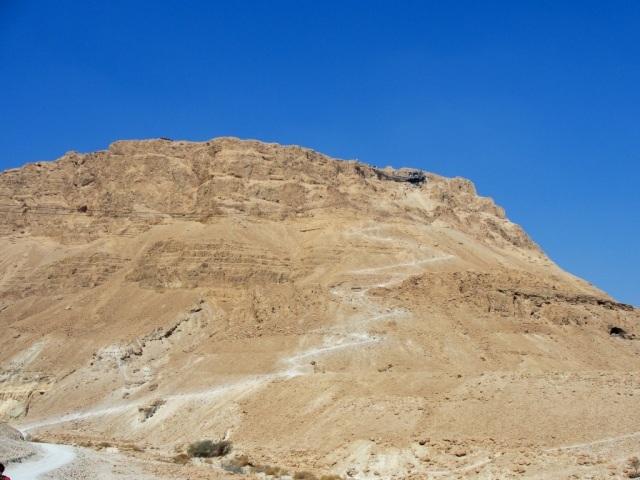 Masada - Fortress - Dead Sea - Josephus - Snake Trail