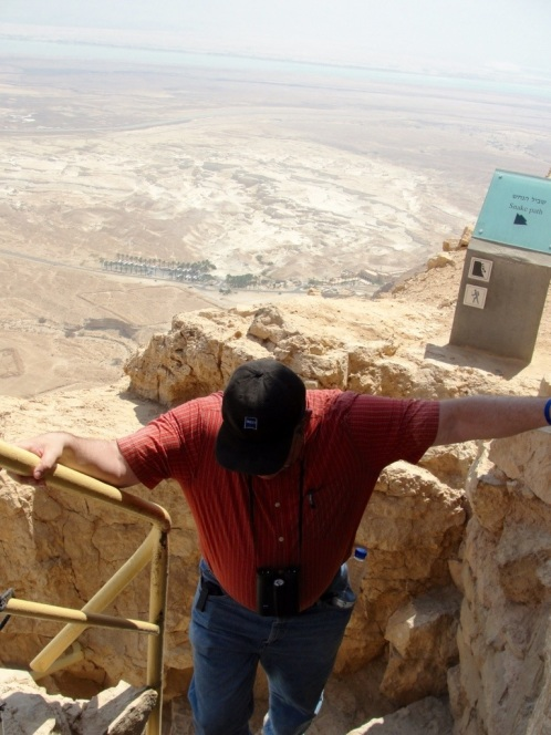 Masada, Top of Snake Path, Dead Sea, Fortress, Roman Seige