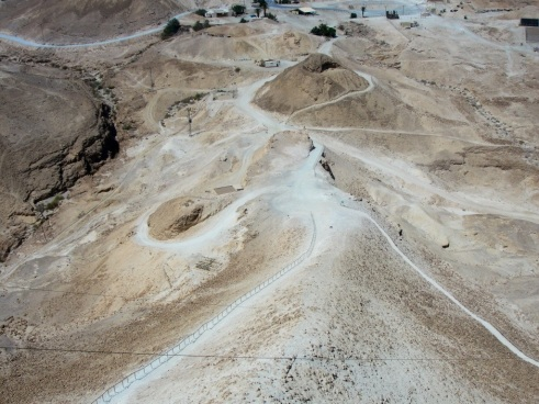 Roman Seige Ramp, Masada, Desert Fortress, Jewish Fortress