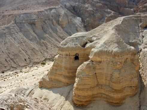 Qumran, Cave 4, Dead Sea, Judean Hills, Dead Sea Scrolls