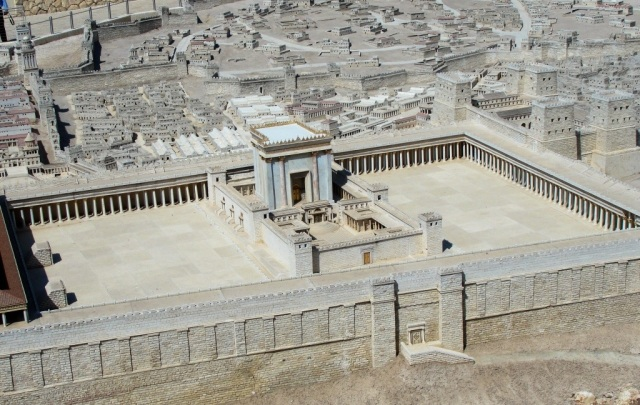 Temple Model, Israel Museum, Temple Mount