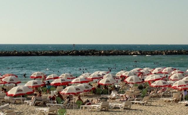 Beach in tel aviv, Mediterranean beach, Israel