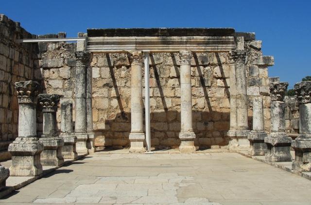 4th Century Synagogue at Capernaum.