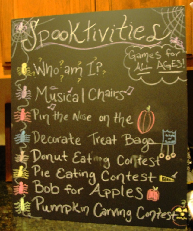 Activities at a Costume Party - Spooktivities