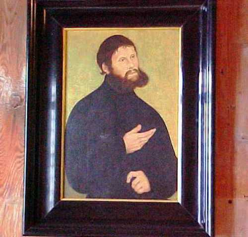 Junker Joerg - Portrait of Martin Luther - Wartburg - Reformation Day