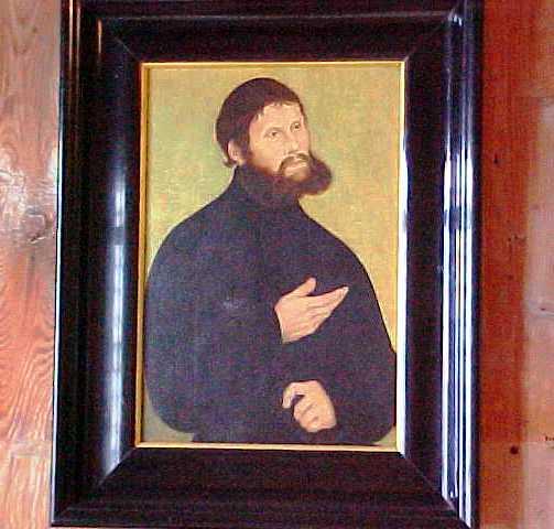 Junker Joerg - Portrait of Martin Luther - Wartburg - Reformation Day