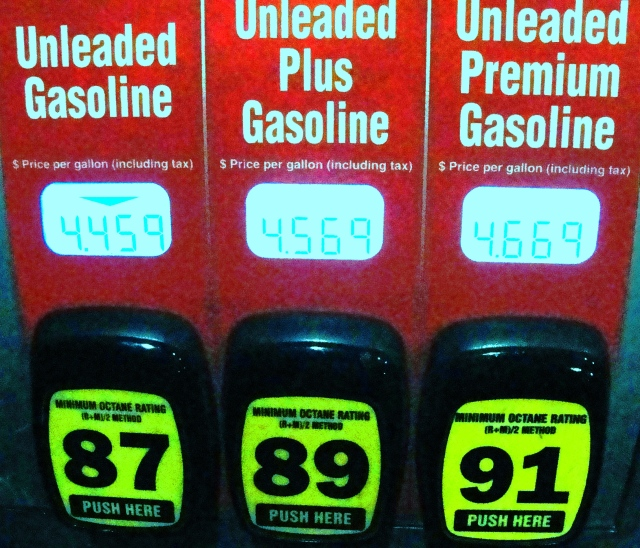 $4.45.9 per gallon gas - Most Expensive tank for me