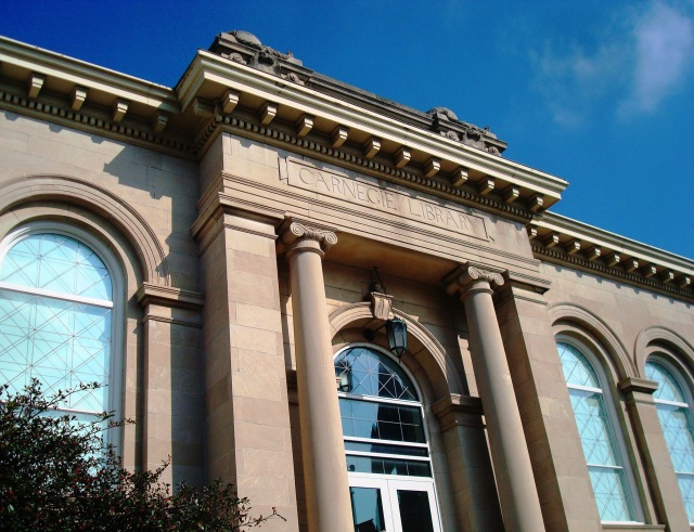 Crawfordsville, Indiana - Carnegie Library - Carnegie Museum