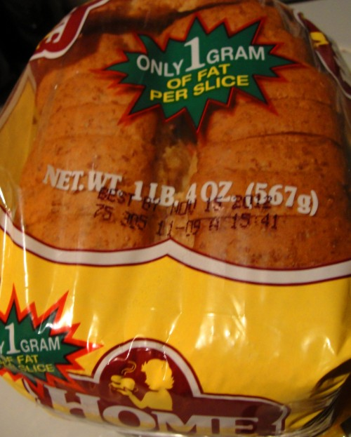 Home Pride Bread - Hostess Brands - Discontinued - Butter Top