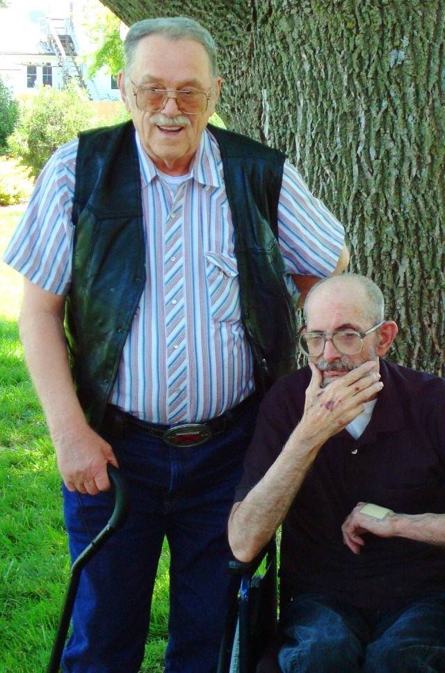 Veterans Day 2012 - Howard and Chester Braman - Veterans