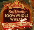 Oroweat Soft Family 100% Whole Wheat - Home Pride Replacement? - Third Candidate