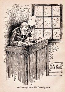 Roberta Paflin - Old Scrooge sat in his Countinghouse - A Christmas Carol - Charles Dickens