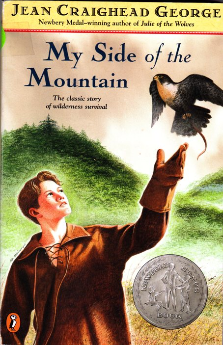 My Side of the Mountain - Jean Craighead George - Newbery Honor Medal - Falcon