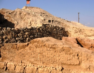 Tell es-Sultan - Walls of Jericho - Bible Class Material for Joshua - Walls Came Tumbling Down - Archaeology