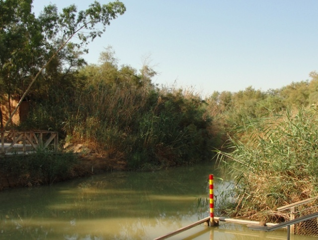 Jordan River - Bethany Beyond Jordan - Traditional Site of the Baptism of Jesus