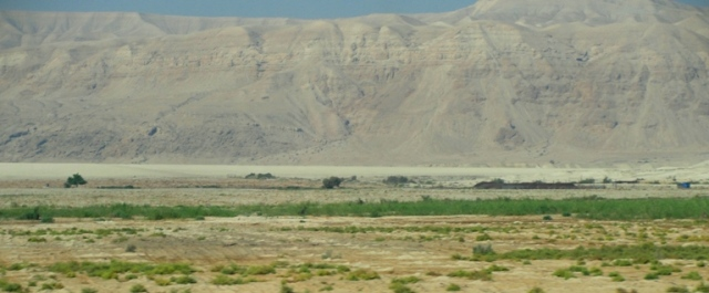 Jordan River Valley - Jericho - Dead Sea - Flood stage