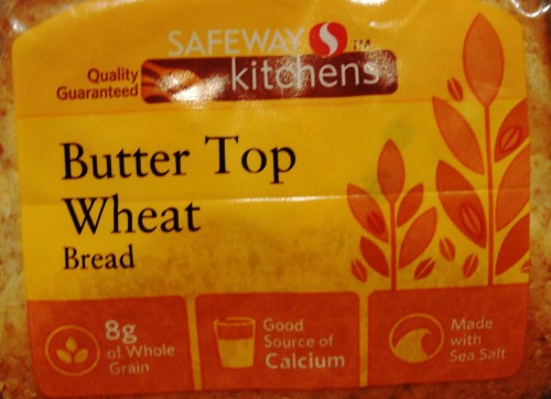 Safeway Kitchens Butter Top Wheat Bread - Not as good as Home Pride