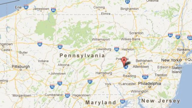 Location of first American Amish Settlement, Northkill, Pennsylvania, Hochstetler, Massacre, Amish