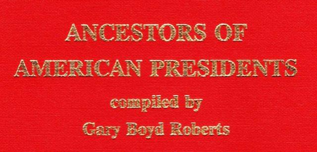 Ancestors of American Presidents by Gary Boyd Roberts - Harrison Ancestry - Pawn Stars