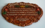 As for Me and My House we willl Serve the Lord - Joshua 24:15 - Joshua Plaque - Home Blessing