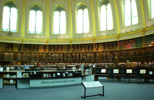 British Museum - Reading Room - British Library - Books