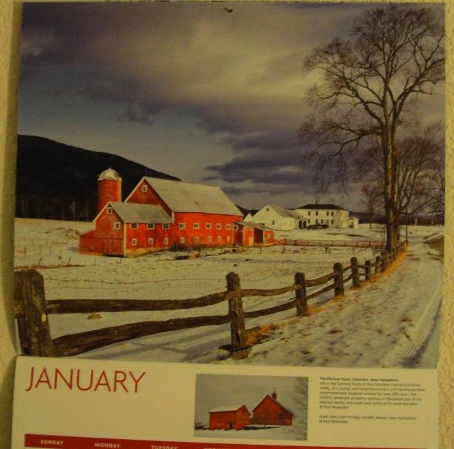 2013 Calendar - Barns - Memories - Amish Barns - Grandparent's Barn - Heartland Barns