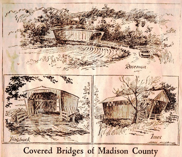 Covered Bridges of Madison County - Iowa - Frank Andrea Miller - Des Moines Register