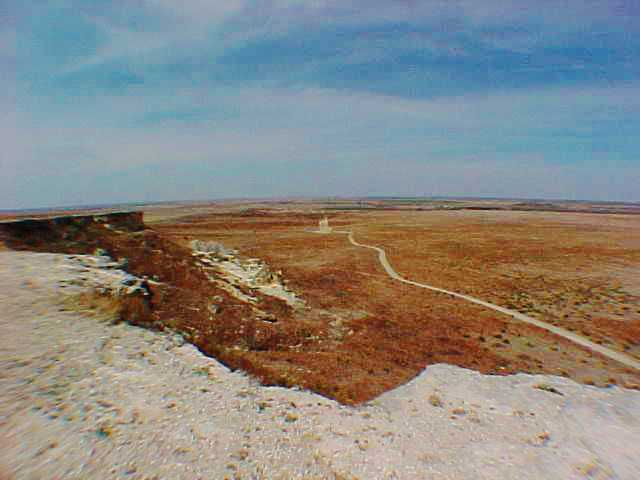 Castle Rock - Gove County Kansas - Limestone Formation
