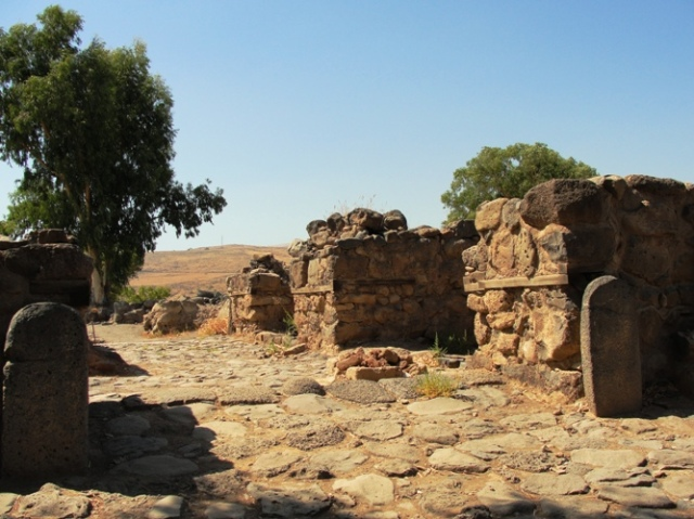 Gate at Bethsaida - City Gate