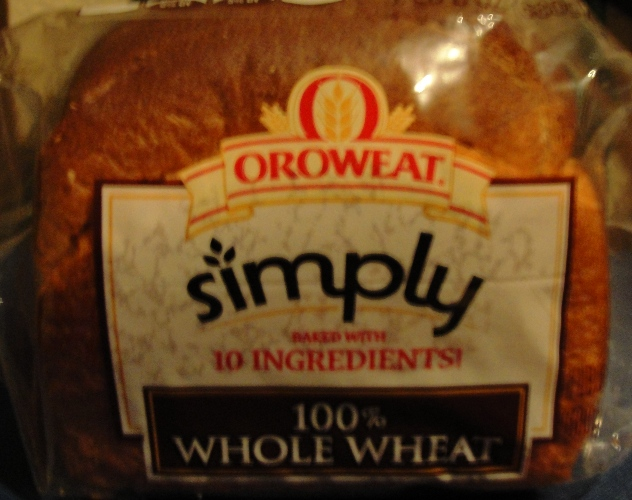 Oroweat simply 100% Whole Wheat -  Home Pride Replacement - Bread Quest - Oroweat