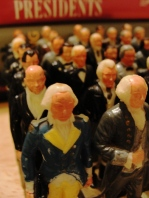 Marx President Figurines - Washington to Johnson - President's Day - Figurines - Grocery Promotion