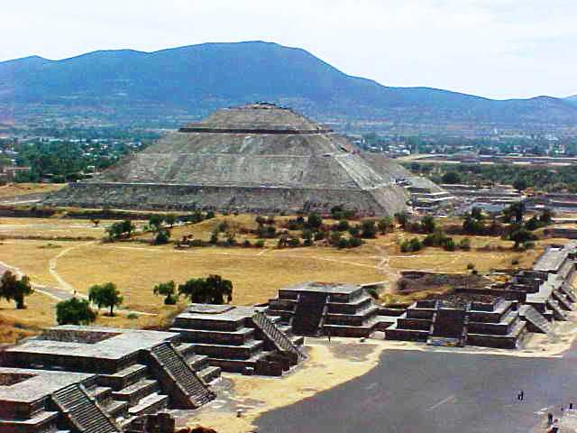 Pyramid of the Sun - Teotihuacán - Mexican Pyramids - Archaeology
